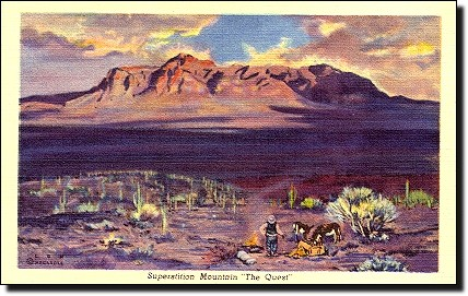 lon megargee - superstition mountain, the quest